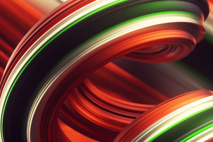 Abstract Red Colorful 4k Wallpaper