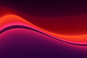 Abstract Red Shape Gradient Wallpaper