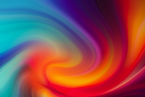 Abstract Spiral Art 4k Wallpaper