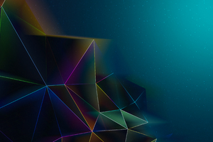 Abstract Triangles Motion 4k Wallpaper