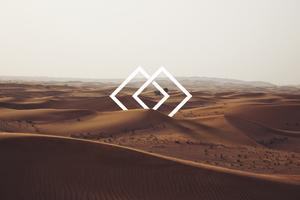 Abstract Vs Nature Desert