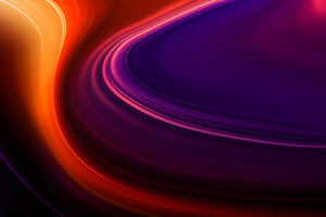 Abstract Warm Colors Flow 8k