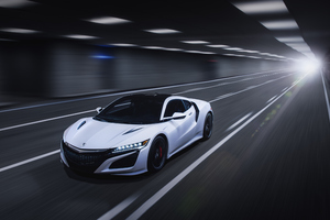 Acura NSX 2019 Front Wallpaper