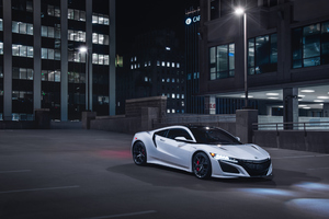 Acura NSX 2019 Front View 4k