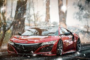 Acura NSX Forza Horizon 4 4k