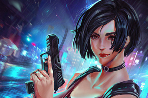 Ada Wong Artwork 2019 Wallpaper