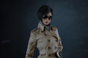 Ada Wong In Resident Evil 2