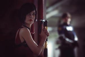 Ada Wong Resident Evil 2 Cosplay 5k Wallpaper