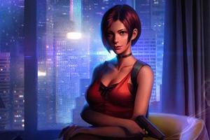 Ada Wong Resident Evil 2 Fictional Character 4k Wallpaper