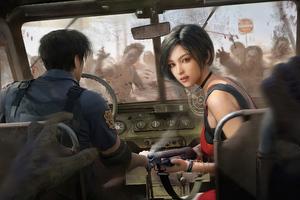 Ada Wong Resident Evil 4k