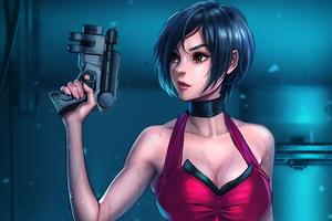 Ada Wong Resident Evil 5k Wallpaper