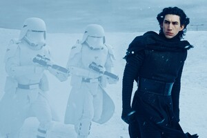 Adam Driver In Star Wars Wallpaper
