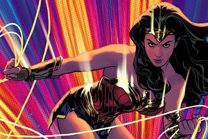 Adam Hughes Wonder Woman Cover 4k