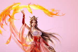 Adeptus Mechanicus Phoenix Girl Art Wallpaper