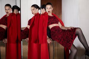 Adriana Lima BCBGMAXAZRIA Fall 2019 Campaign
