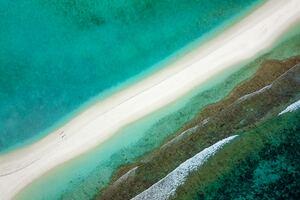 Aerial View Coast 4k