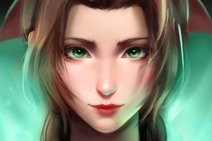Aerith FF7 Fan Art 4k
