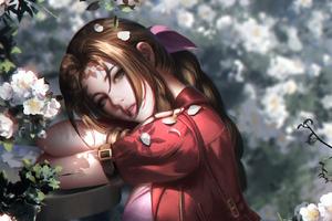 Aerith Final Fantasy Wallpaper