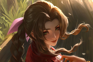 Aerith Gainsborough Final Fantasy Xv