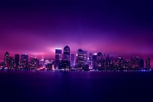 Aesthetic City Night Lights