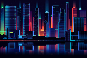 Affinity Skyline 4k Wallpaper