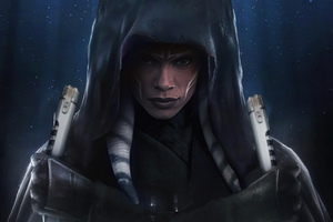 Ahsoka Tano Revan Pose Wallpaper