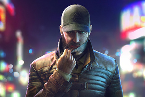 Aiden Pearce Watch Dogs Legion 4k Wallpaper
