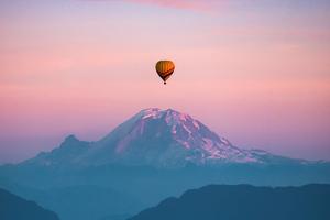 Air Balloon Flight In Washington Wallpaper