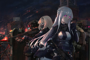 AK 12 Girls Frontline 5k