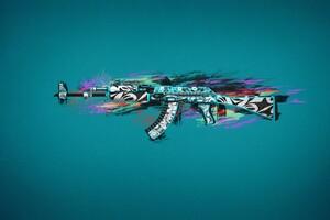 Ak47 Colorful Art