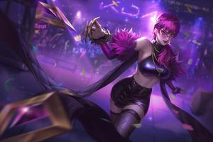 Akali League Of Legends Art 4k New