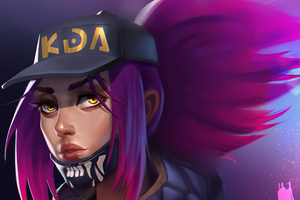 Akali League Of Legends Artwork