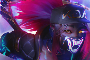 Akali League Of Legends Fan Art