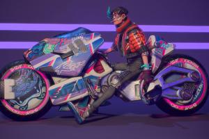 Akira Rider 4k Wallpaper