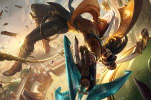 Akshan League Of Legends Wallpaper