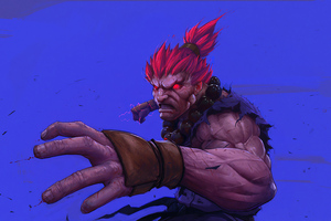 Akuma Street Fighter 4k