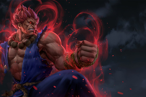 Akuma Street Fighter 4k Artwork