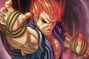 Akuma Street Fighter 5k Wallpaper