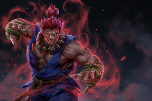Akuma Street Fighter Artwork