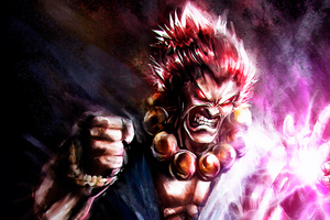 Akuma Street Fighter Game 5k Wallpaper