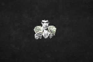 Al Pacino Scarface 4k Wallpaper