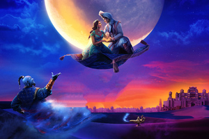 Aladdin 2019 4k Movie Wallpaper