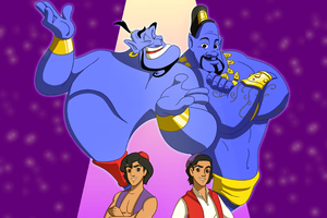Aladdin 2019 Artwork