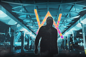 Alan Walker Abstract 4k