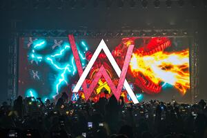 Alan Walker Concert Logo