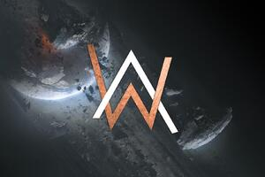 Alan Walker Creative Logo