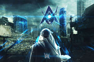 Alan Walker Darkside 4k