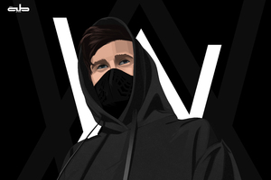 Alan Walker Digital Art