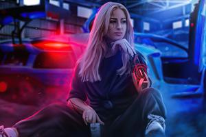 Aless Cybergirl 4k Wallpaper