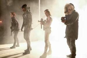 Alex Danvers Sara Lance Captain Cold Arrow Season 6